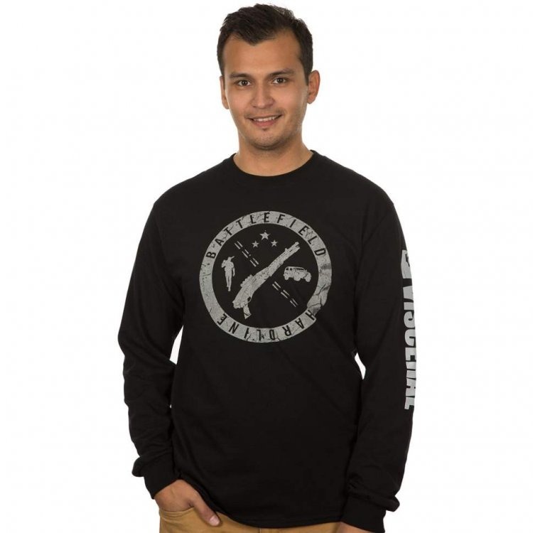 Jinx Battlefield Hardline - Stamp Adult Long Sleeve T-Shirt