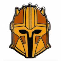 Paladone Star Wars - The Mandalorian Helmet Gold Enamel Pin Badge