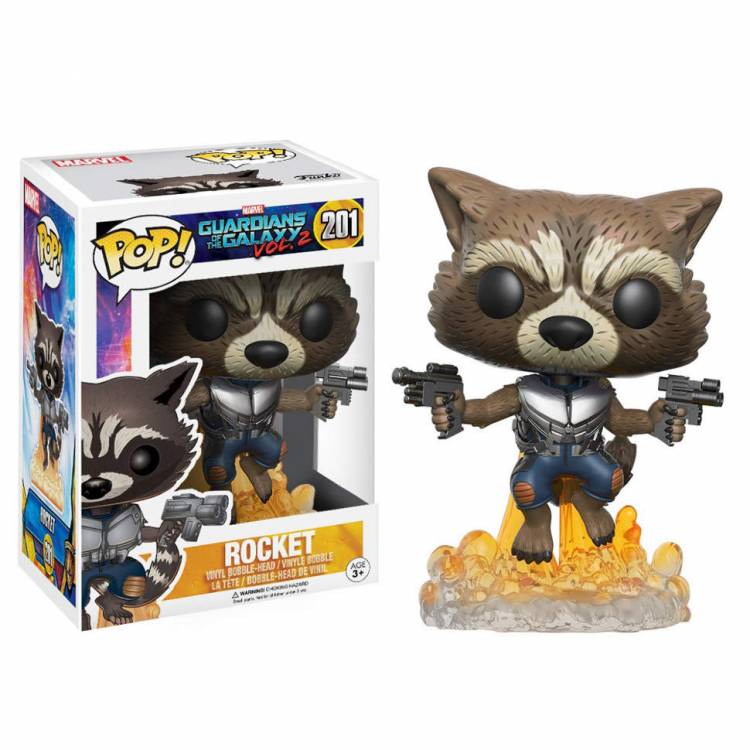 Funko POP Movies: Guardians of the Galaxy 2 - Flying Rocket Figure
