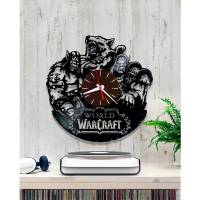 Handmade World of Warcraft Vinyl Clock Wall