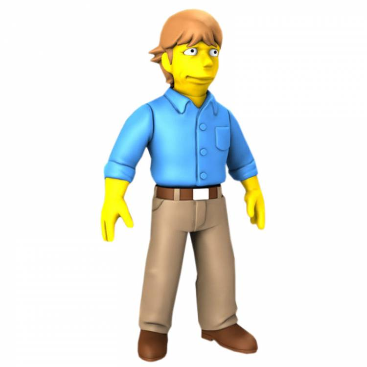 Neca The Simpsons 25th Anniversary Series 2 - Mark Hamill Action Figure