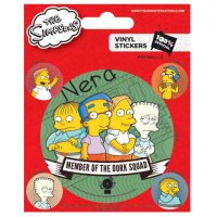 Pyramid International The Simpsons - Dork Squad Sticker Set
