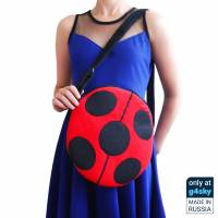 Miraculous Ladybug and Cat Noir Reversible Handmade Bag [Exclusive]