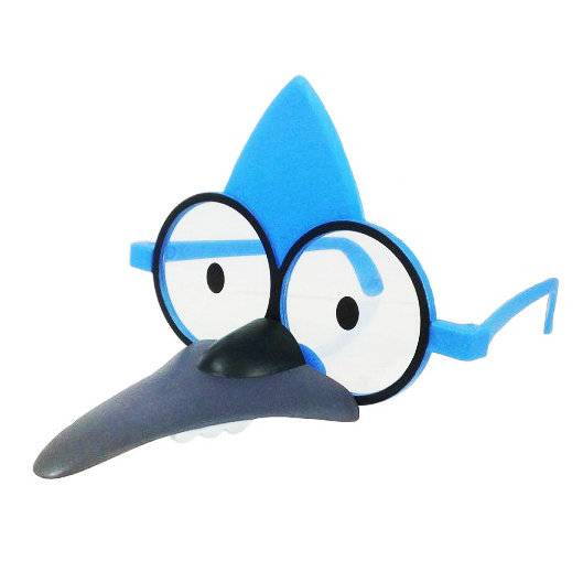 Jazwares Regular Show - Mordecai Role-Play Glasses