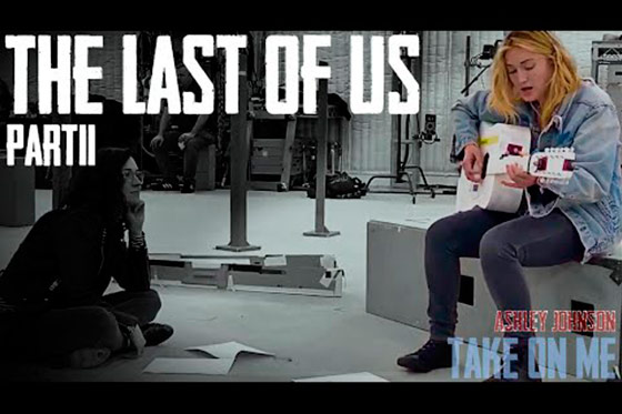 "[Music Video] Ashley Johnson sings ""Take on Me"" (The Last of Us Part 2)"