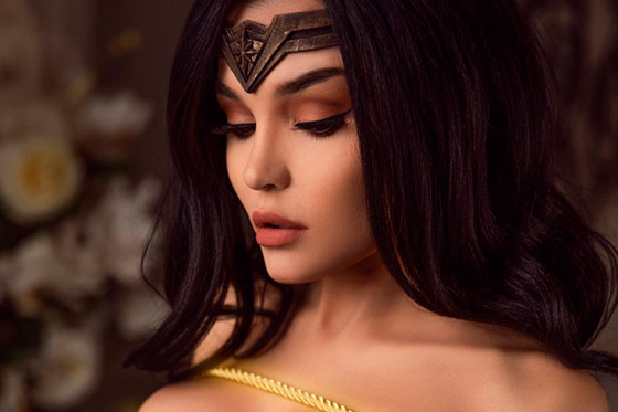 [Cosplay] Wonder Woman (DC Comics) by Kalinka Fox (NSFW)