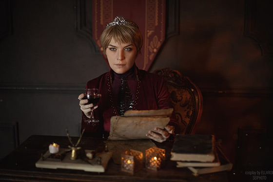 [Cosplay] Cersei Lannister (Game of Thrones) by Ellari3l