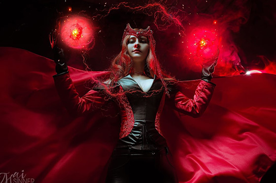 [Cosplay] Scarlet Witch (Marvel) by Shiera