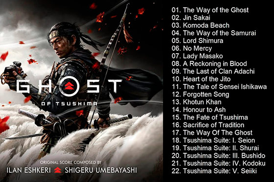 [Music Video] Ghost of Tsushima OST (Full Album)