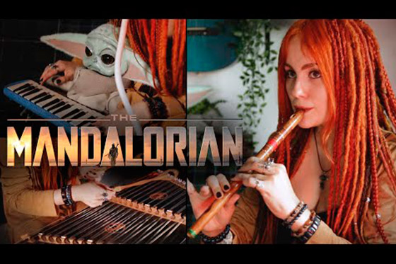 [Music Video] The Mandalorian Main Theme (Gingertail Cover)