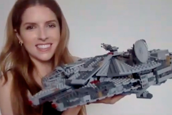 [Fun Video] Anna Kendrick do some Lego stuff due to quarantine